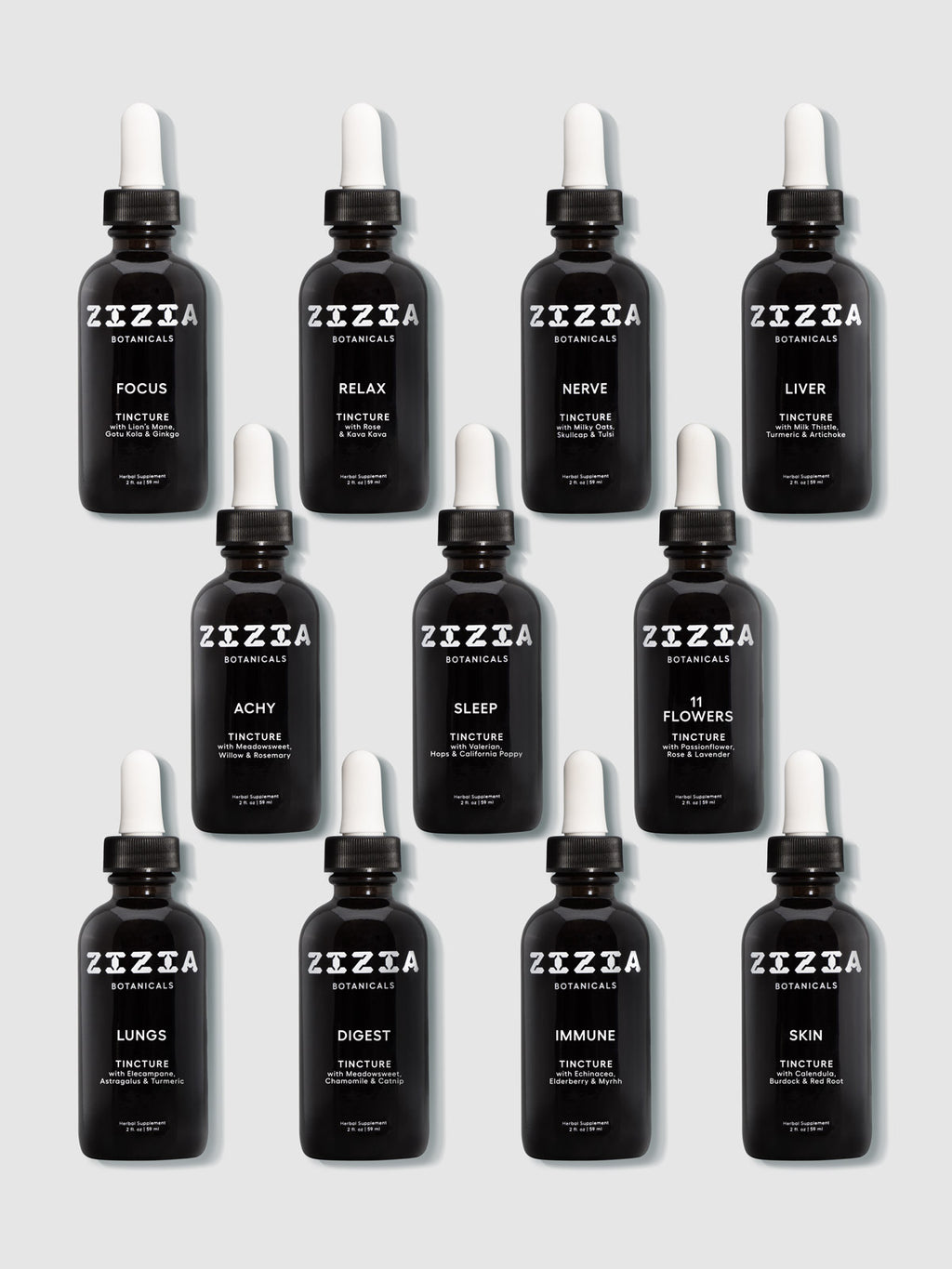 Zizia Tincture Collection