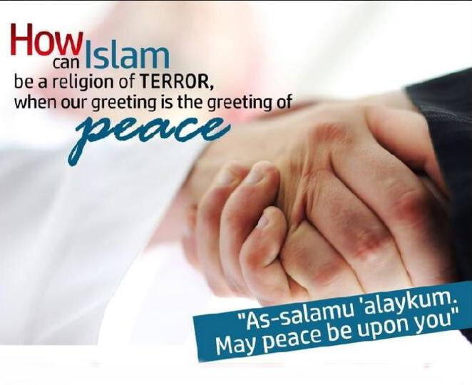 Greet with Peace
