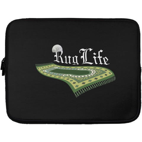 RugLife WHITE Laptop Sleeve 13in