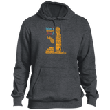 ITM PrayerWords2 YELLOW Front Tall Pullover Hoodie