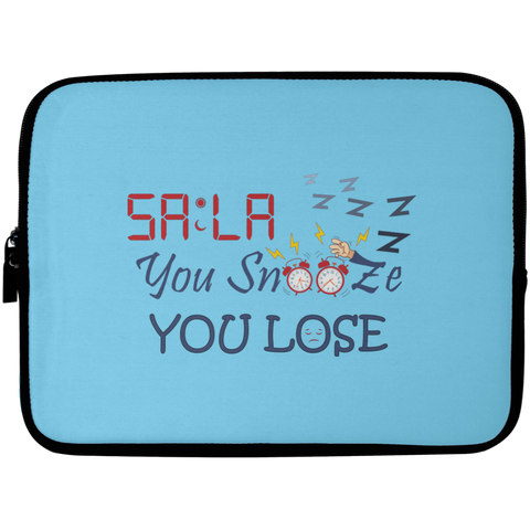 Dont.Snooze.Sala Laptop Sleeve 10in