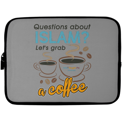 ITM Lets.Grab.Coffee CB Laptop Sleeve 10in