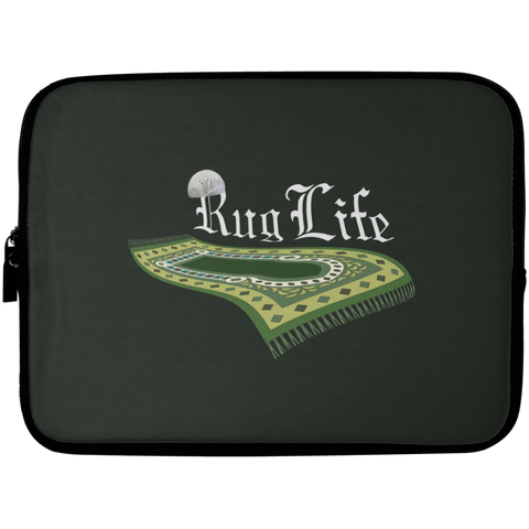 RugLife WHITE Laptop Sleeve 10in