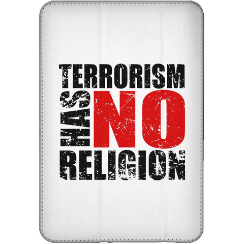 TerrorHasNoReligion BLACK iPad Mini Flip Case