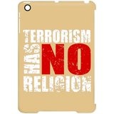 TerrorHasNoReligion WHITE iPad Mini Clip Case