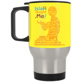 ITM PrayerWords2 YELLOW Stainless Travel Mug