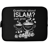 ITM Lets.Grab.Coffee W Laptop Sleeve 10in