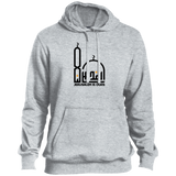 AlQuds.Lana E BLACK Tall Pullover Hoodie