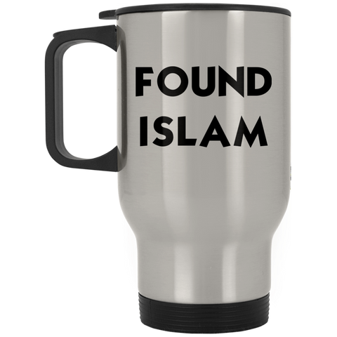 FoundIslam BLACK Stainless Travel Mug