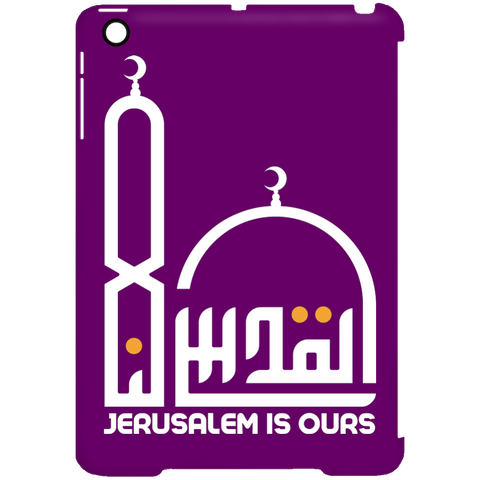 AlQuds.Lana E WHITE iPad Mini Clip Case