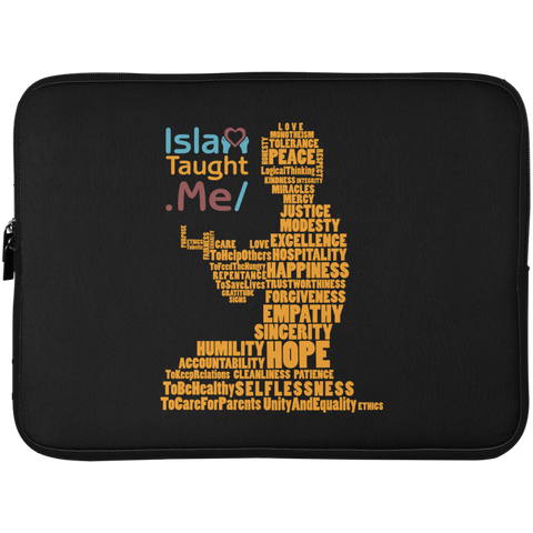 ITM PrayerWords2 YELLOW Laptop Sleeve 15in