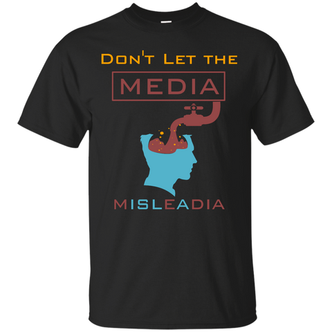 NoLogo Media.Misleadia Gildan Tshirt - IslamTaught.Me - 1