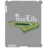 RugLife WHITE iPad Clip Case