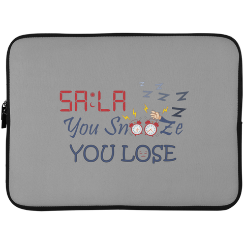 Dont.Snooze.Sala Laptop Sleeve 15in