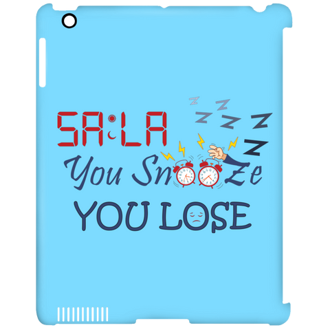Dont.Snooze.Sala iPad Clip Case