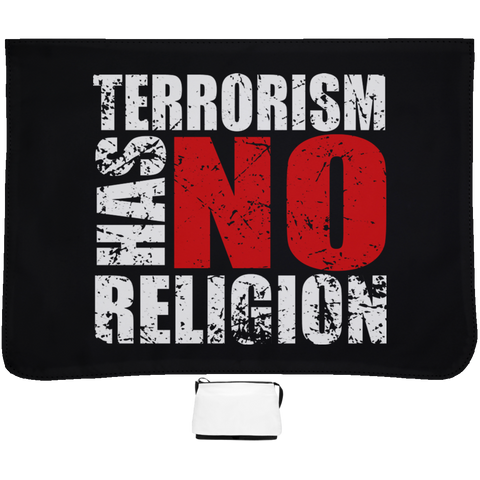 TerrorHasNoReligion WHITE Large Shoulder Bag