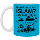ITM Lets.Grab.Coffee B 11oz White Mug