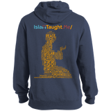 ITM PrayerWords Yellow Back Tall Pullover Hoodie