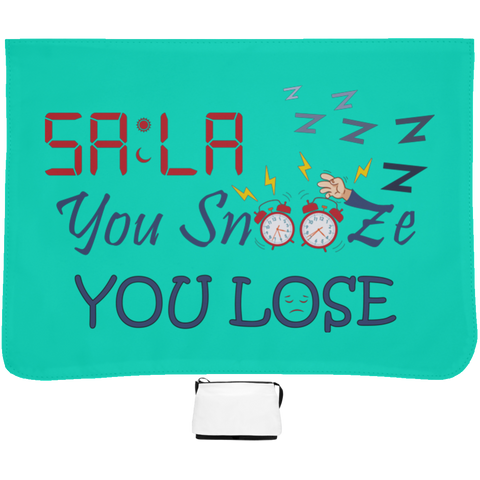 Dont.Snooze.Sala Large Shoulder Bag
