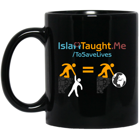 ITM Save.One.Save.All 11oz Black Mug