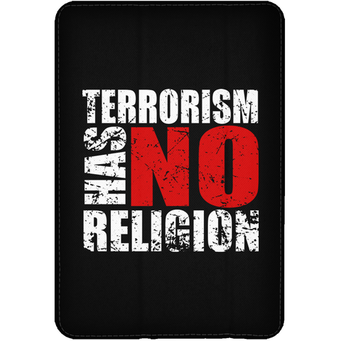 TerrorHasNoReligion WHITE iPad Mini Flip Case