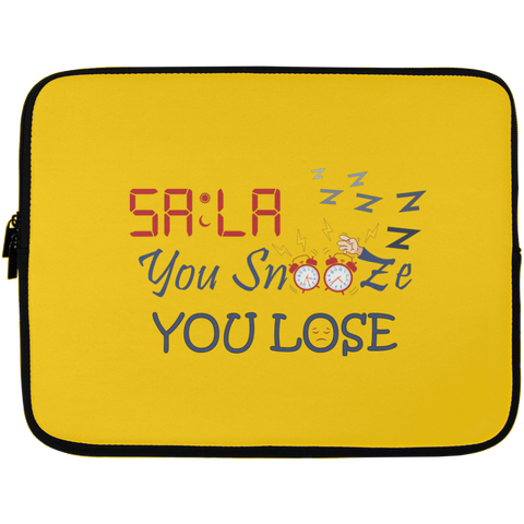 Dont.Snooze.Sala Laptop Sleeve 13in