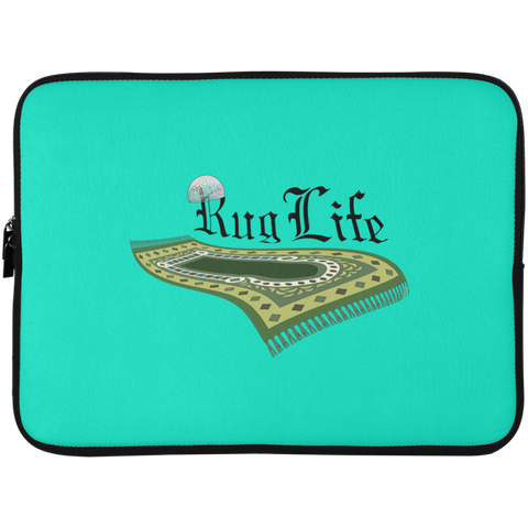 RugLife BLACK Laptop Sleeve 15in