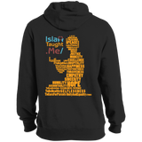 ITM PrayerWords2 YELLOW Back Tall Pullover Hoodie
