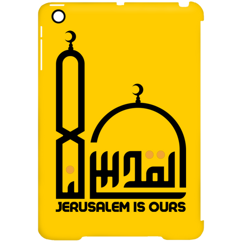 AlQuds.Lana E BLACK iPad Mini Clip Case