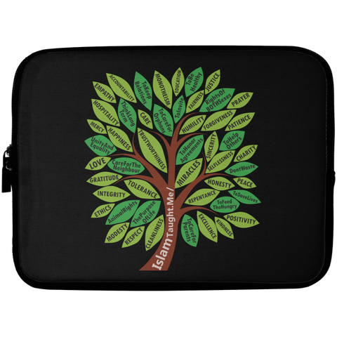 ITM TreeWords COLOR Laptop Sleeve 10in