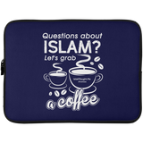 ITM Lets.Grab.Coffee W Laptop Sleeve 15in