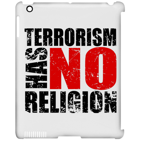 TerrorHasNoReligion BLACK iPad Clip Case