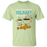 ITM Lets.Grab.Coffee WHITE Gildan TShirt - IslamTaught.Me - 2