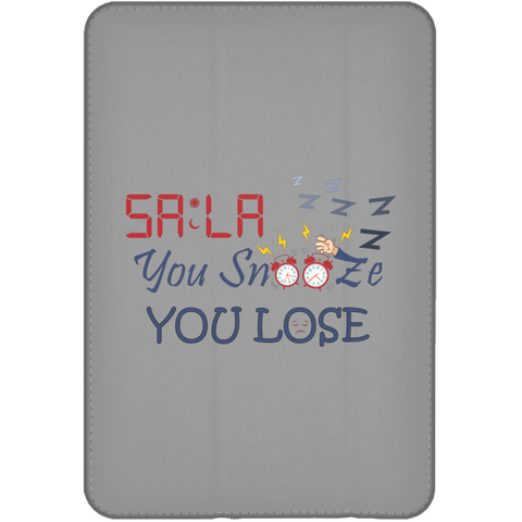 Dont.Snooze.Sala iPad Mini Flip Case