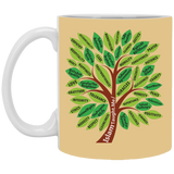 ITM TreeWords COLOR 11oz White Mug