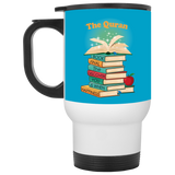 Discover White Travel Mug