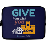 Charity Laptop Sleeve 10in
