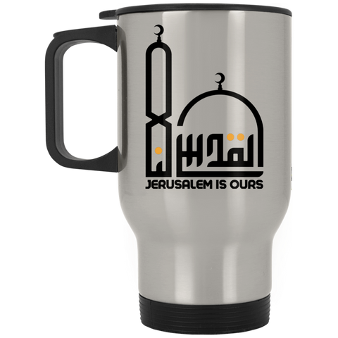 AlQuds.Lana E BLACK Stainless Travel Mug
