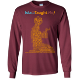 ITM PrayerWords YELLOW Gildan LongSleeve - IslamTaught.Me - 6