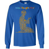 ITM PrayerWords YELLOW Gildan LongSleeve - IslamTaught.Me - 8
