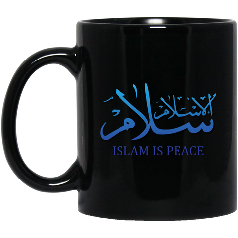 Islam.Is.Peace BLUE 11oz Black Mug