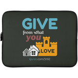 Charity Laptop Sleeve 15in