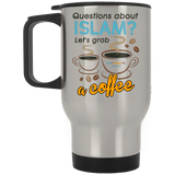 ITM Lets.Grab.Coffee CB Stainless Travel Mug
