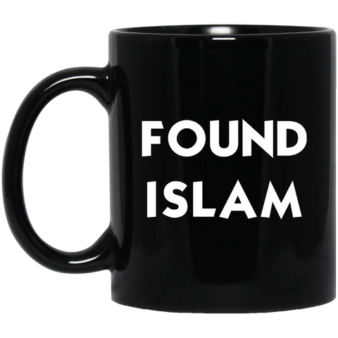FoundIslam WHITE 11oz Black Mug