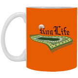 RugLife BLACK 11oz White Mug