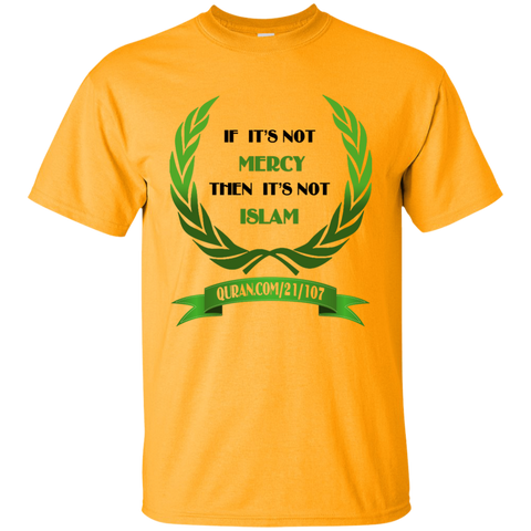 Islam.Is.Mercy2 GREENnBLACK Gildan Tshirt URL