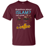 ITM Lets.Grab.Coffee WHITE Gildan TShirt - IslamTaught.Me - 6