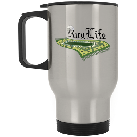 RugLife BLACK Stainless Travel Mug