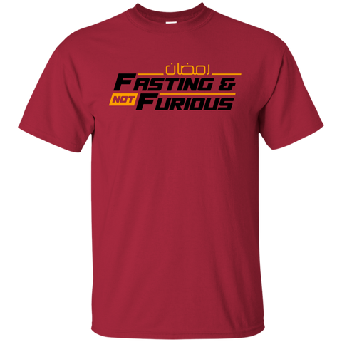 Fasting.Not.Furious BLACK Gildan Tshirt