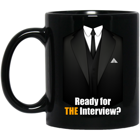 TheInterview 11oz Black Mug